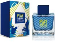 Туалетная вода Antonio Banderas Play In Blue Seduction For Men 100мл.