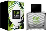 Antonio Banderas Play In Black Seduction for Men 100мл.